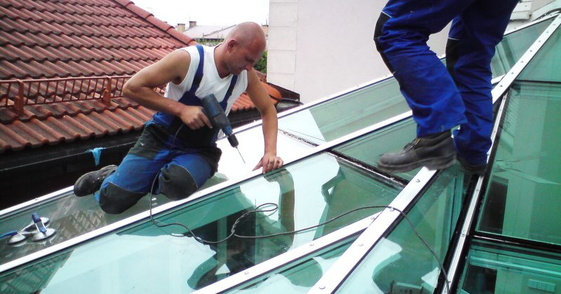 Naprawa i renowacja fasad aluminiowych