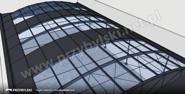 Kraków Hotel projekt ogrodu zimowego