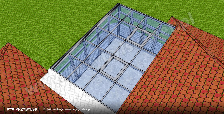 Michałowice projekt ogrodu zimowego