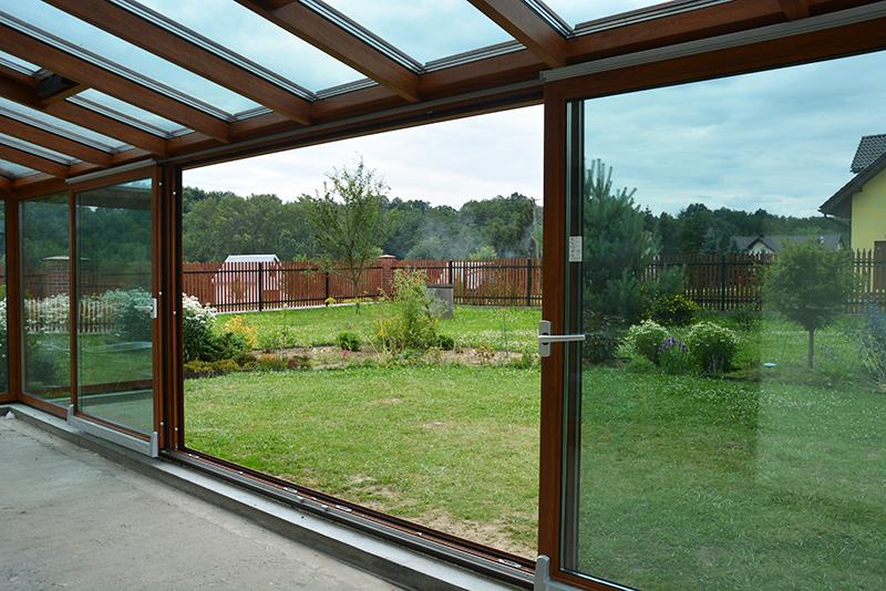 Drzwi okna uchylno przesuwne roto patio