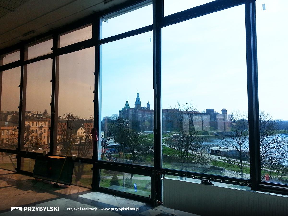 Jubilat widok na Wawel