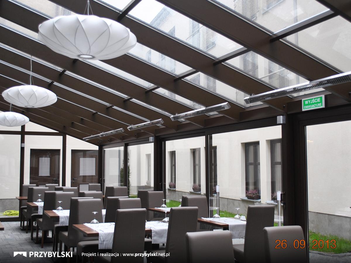 Aluminiowe konstrukcje dla hoteli