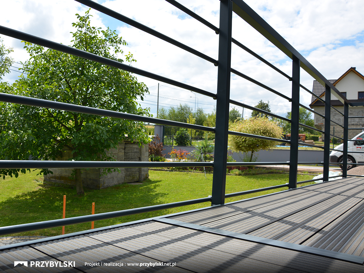 Balustrada aluminiowa Myślenice
