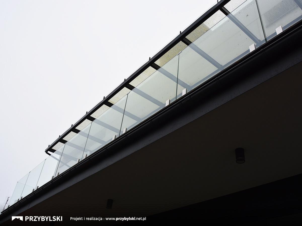 Balustrady cało-szklane