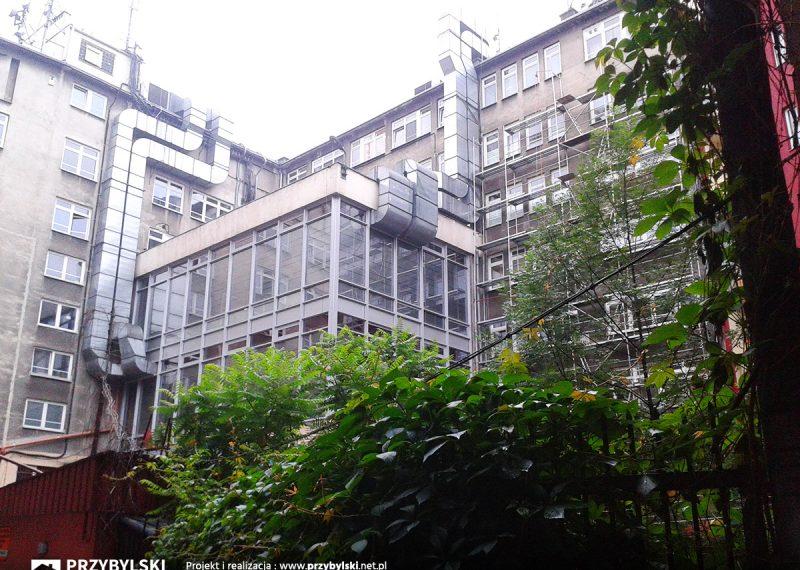 Naprawa renowacja fasad aluminiowych