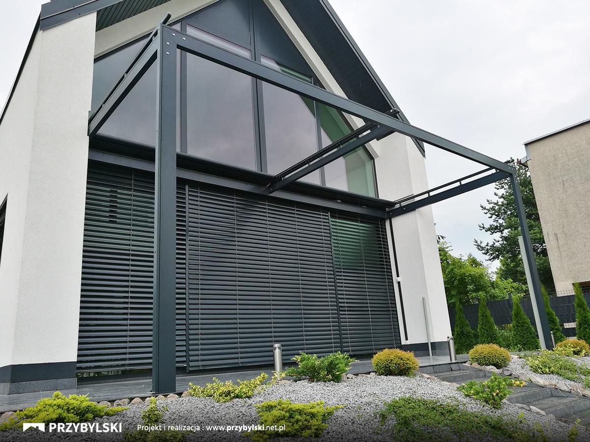 System Veranda rolety dachowe na pergoli
