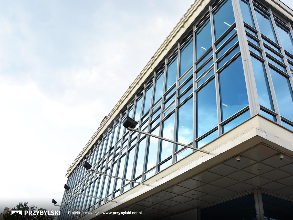 Wymiana fasad aluminiowych