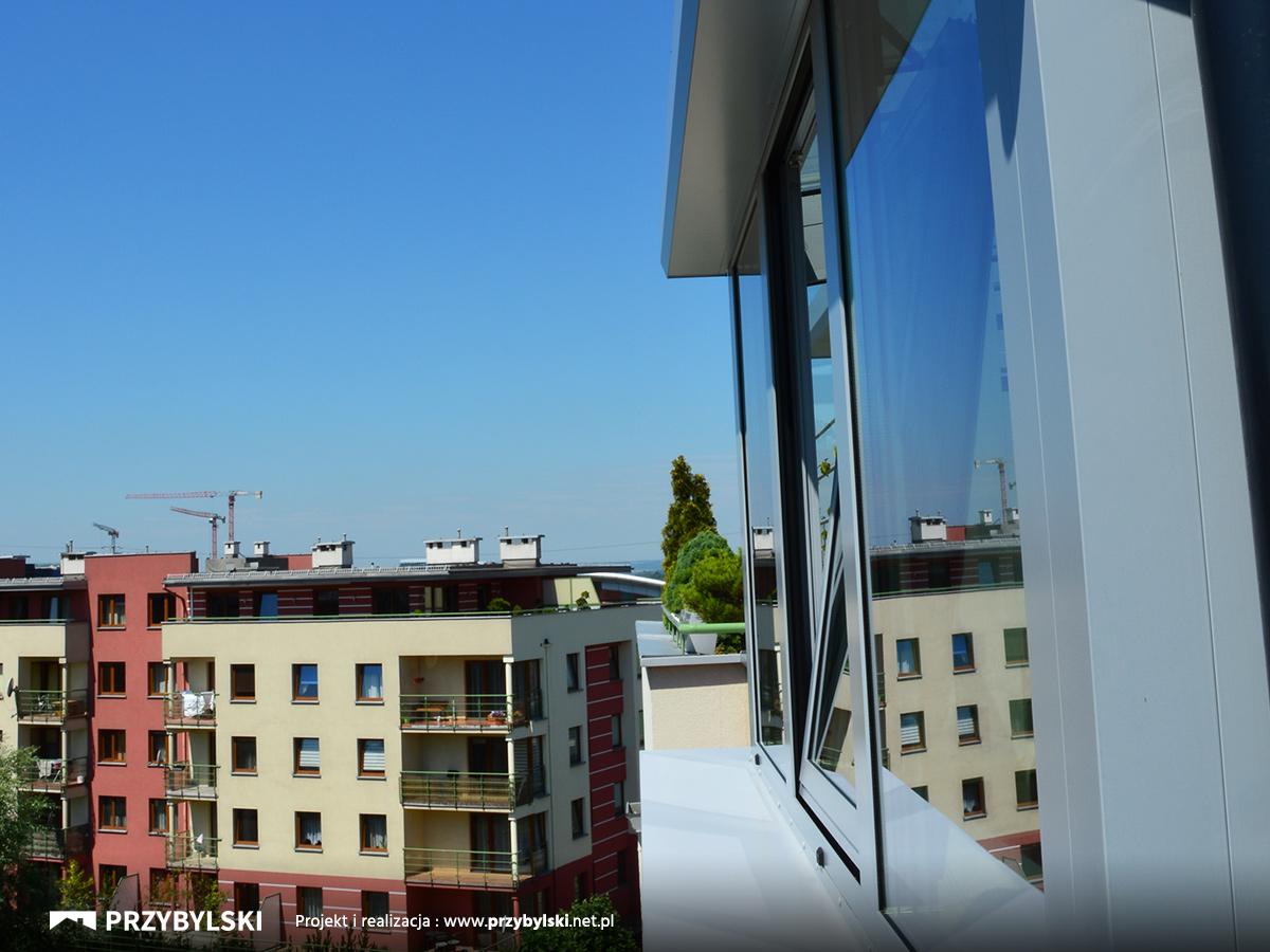 Zabudowa balkonów Kraków