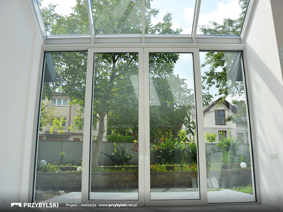 Ogród zimowy okno kolankowe