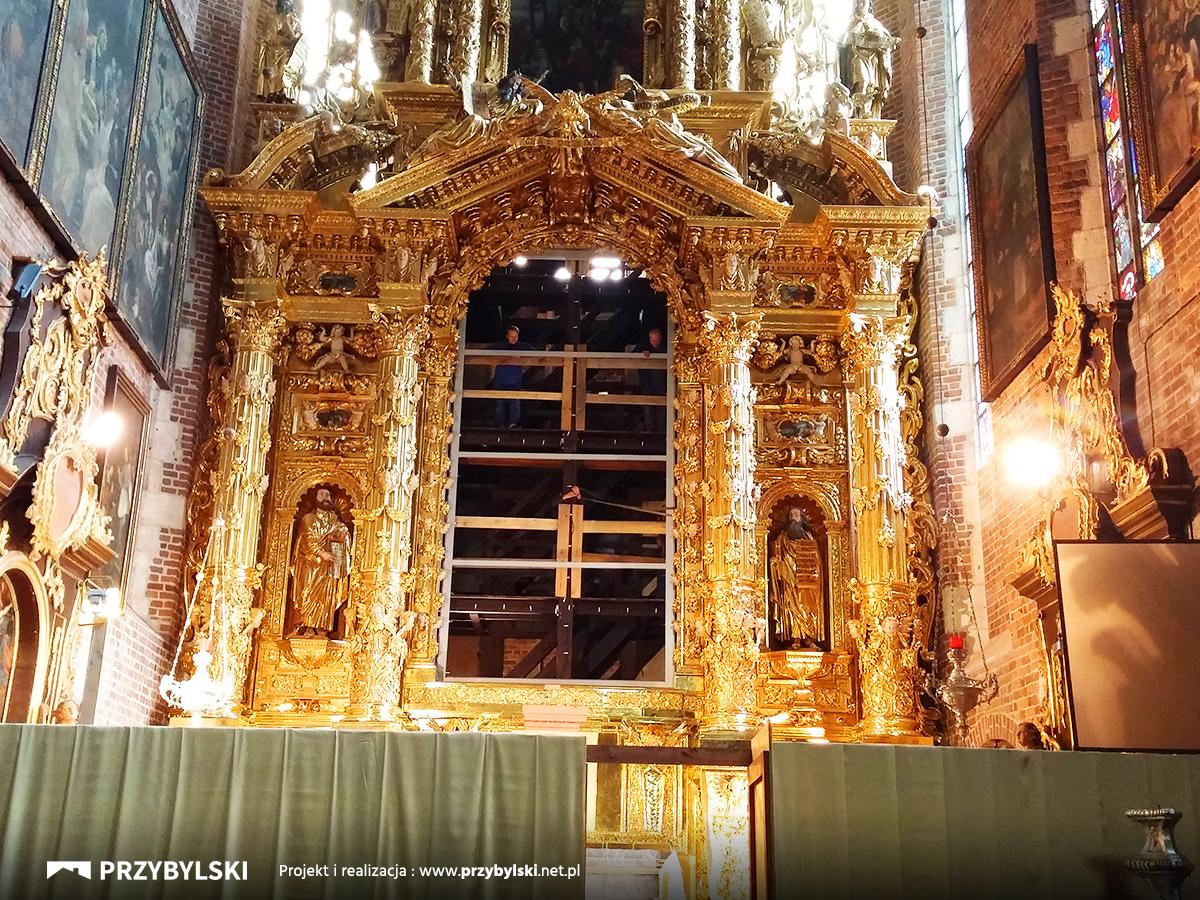 Renowacja obrazu Kraków Parafia
