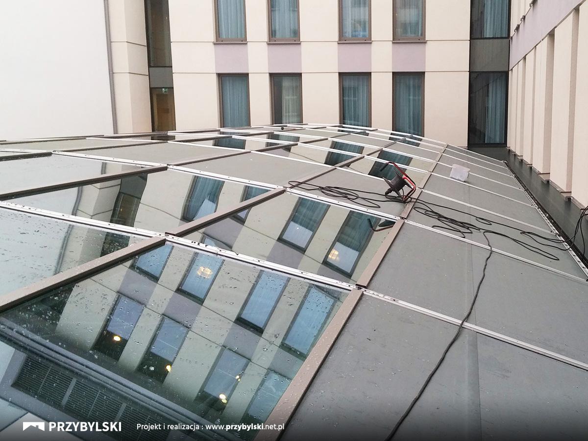 Szklane patio Kraków
