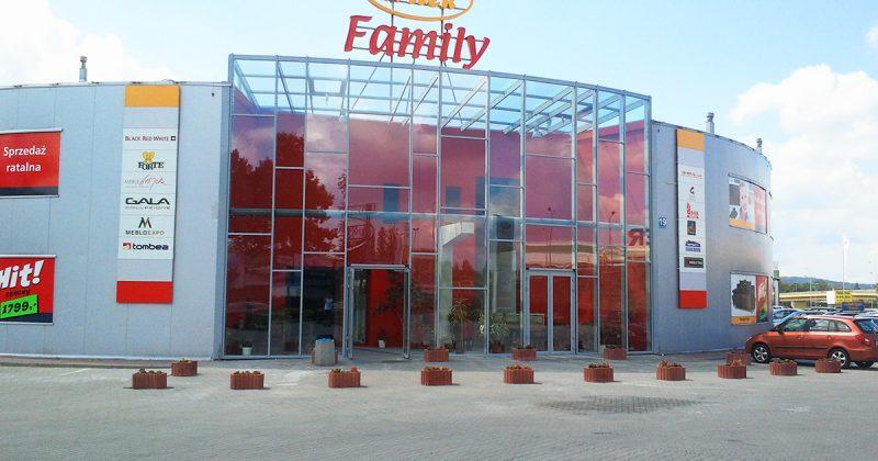 Witek Family fasada aluminiowa