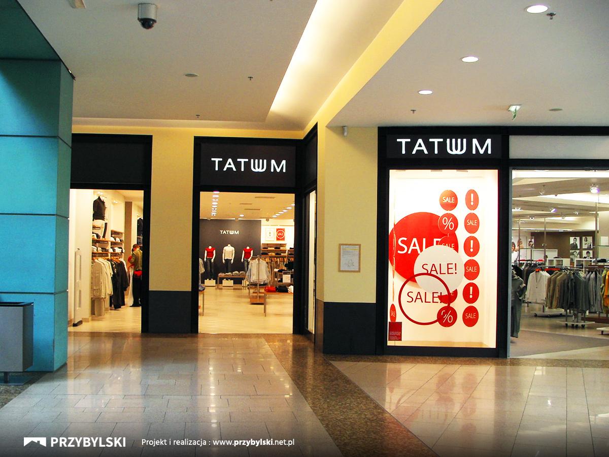 Witryny sklepowe dla centrum handlowych