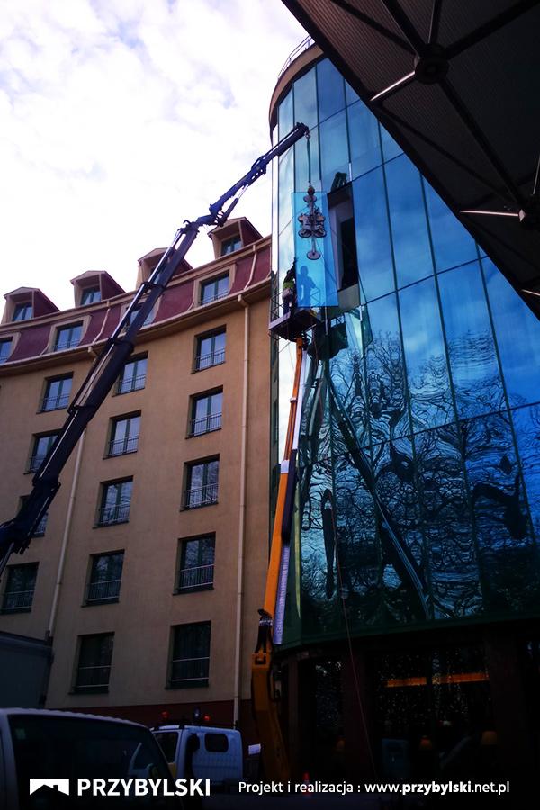 Wymiana szyby Hotel Vienna