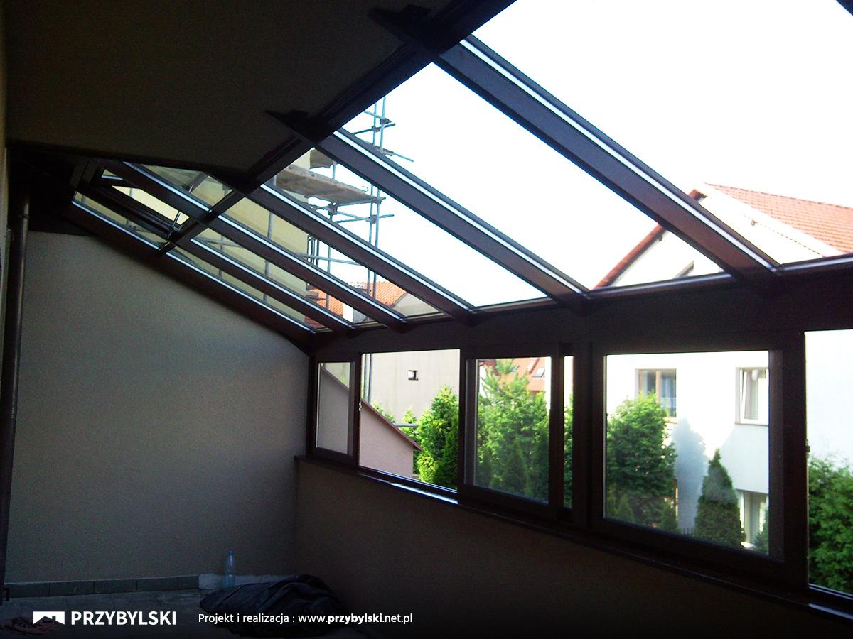 Aluminiowa zabudowa balkonu