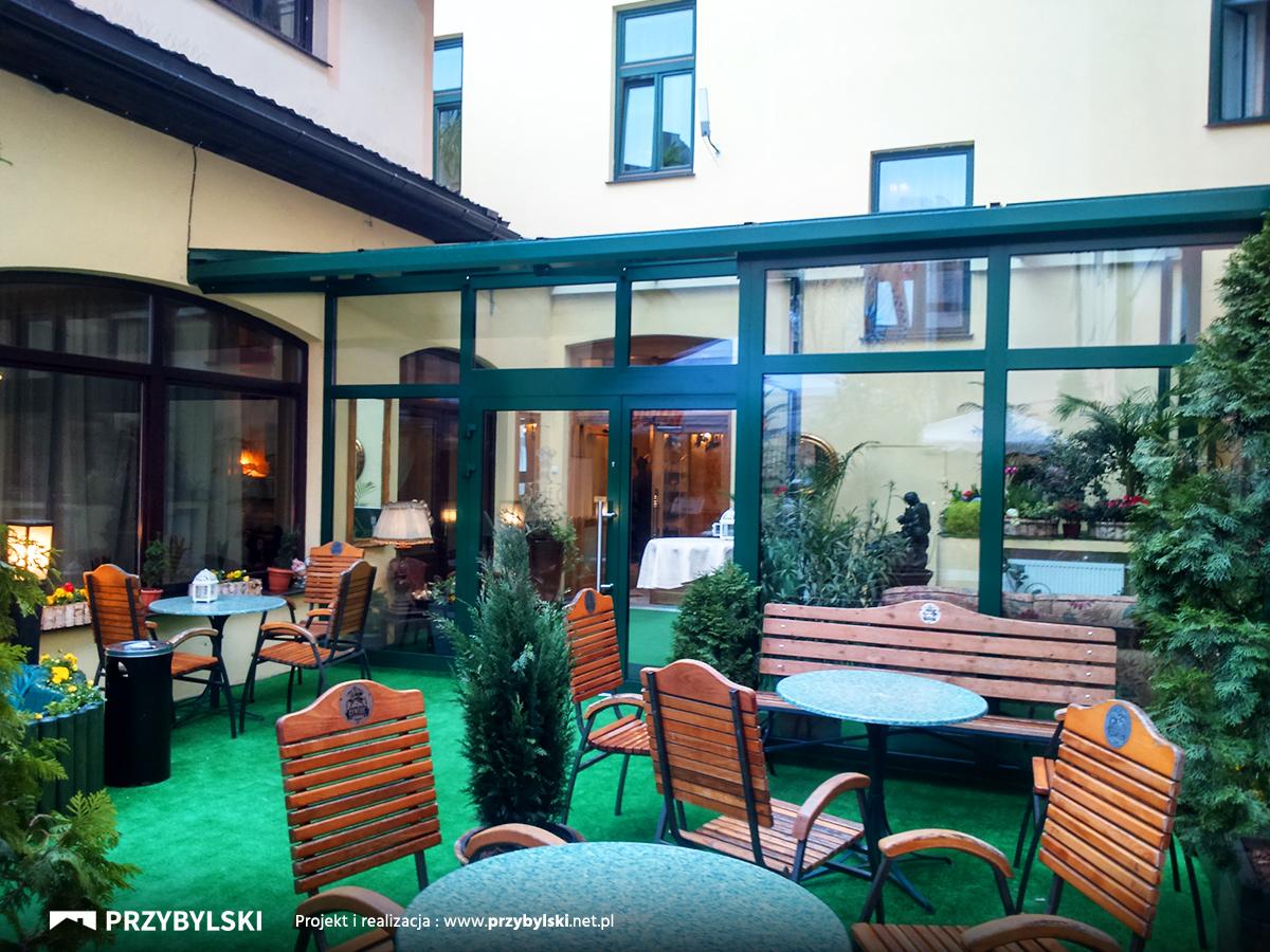 Ogród zimowy Hotel Europejski