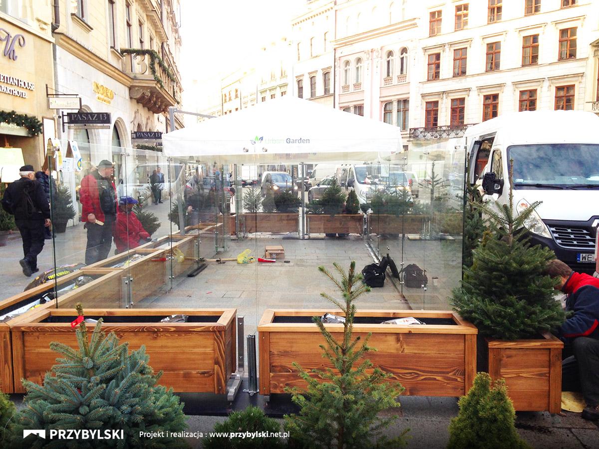 Budowa ogródków szklanych