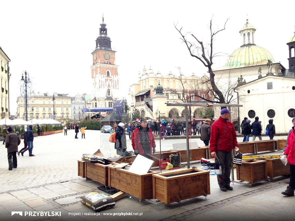 Przybylski na Rynku Głównym Kraków