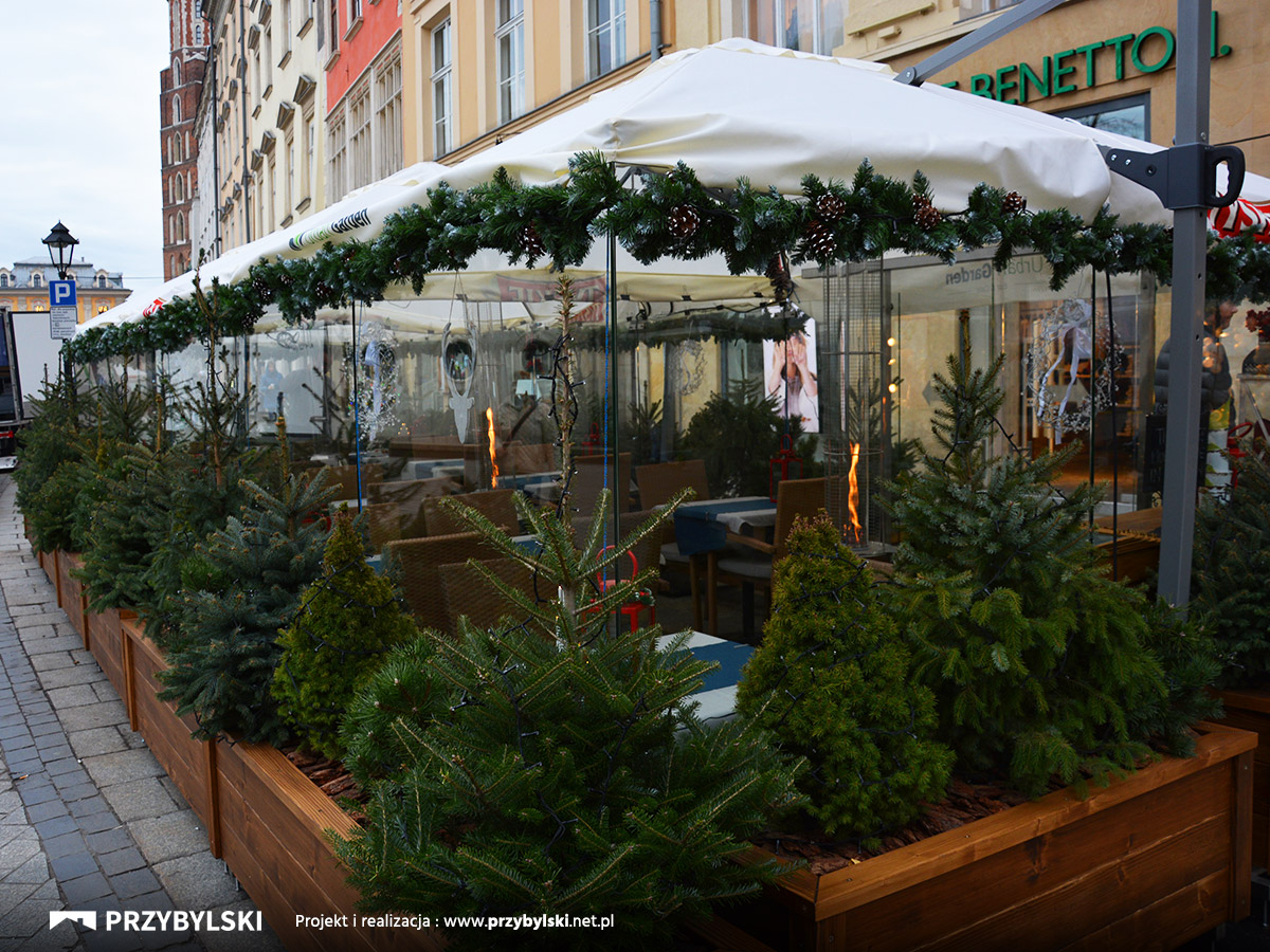 Szklany ogród restauracja Rynek