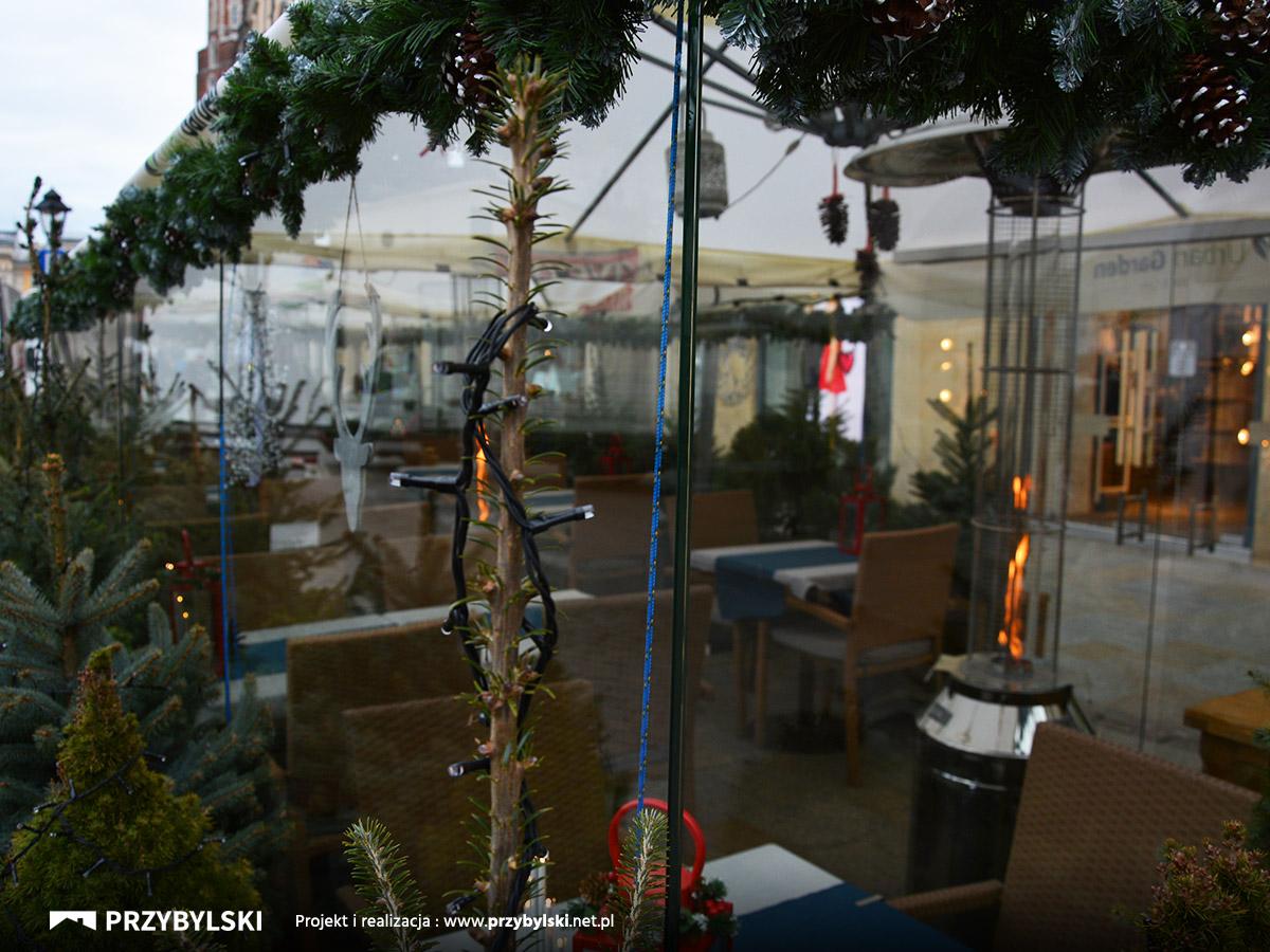 Szklany ogródek restauracja