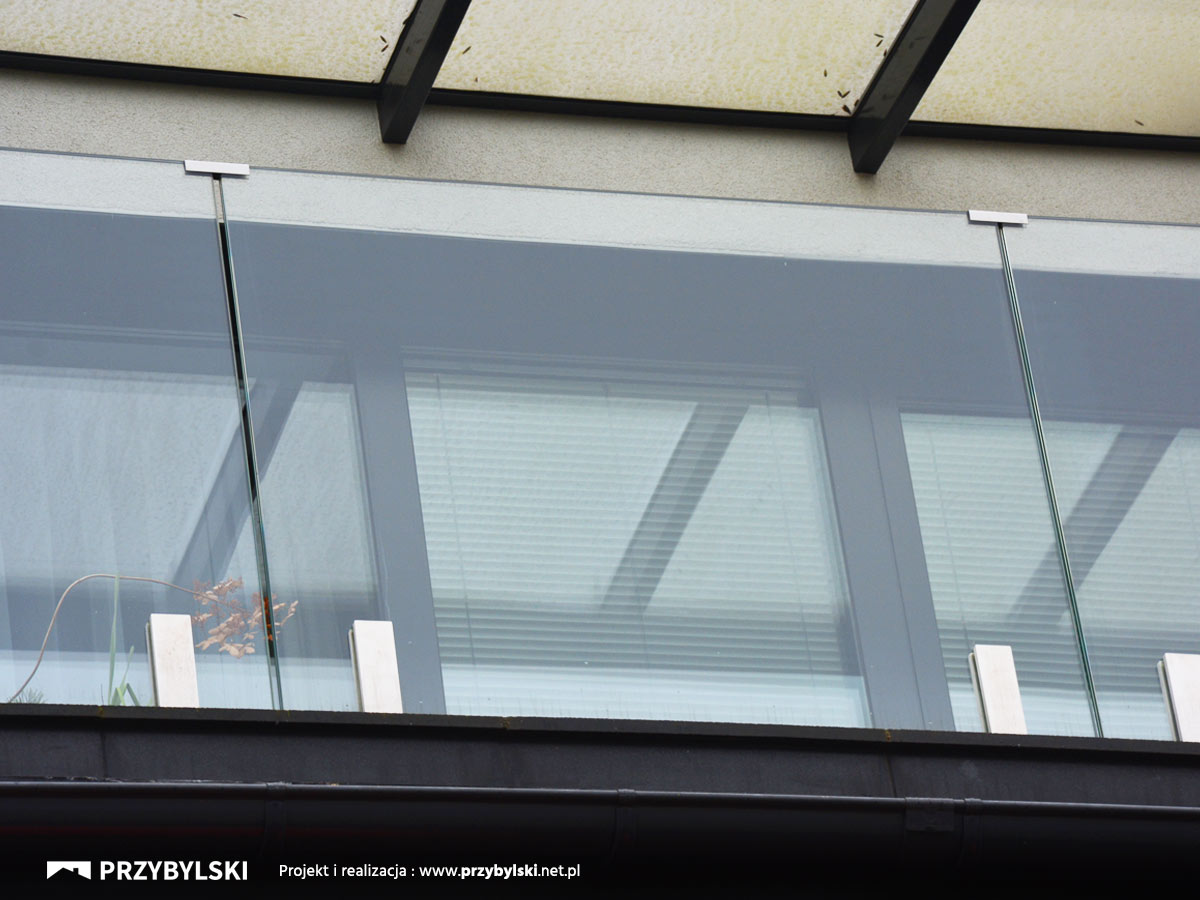Balustrada całoszklana