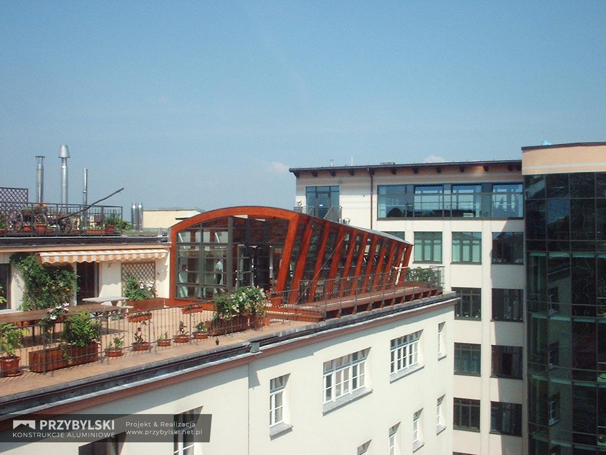 Ogród zimowy na dachu