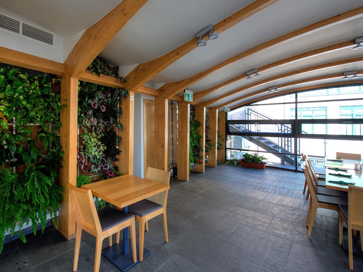 Zielone Tarasy wnętrze