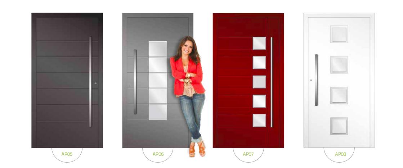 Drzwi wejściowe ALUPROF