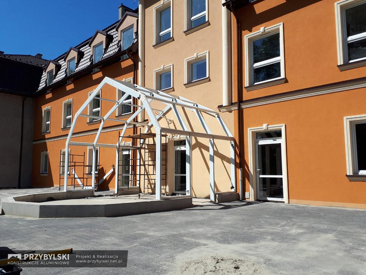 Budowa ogrodu zimowego 0001