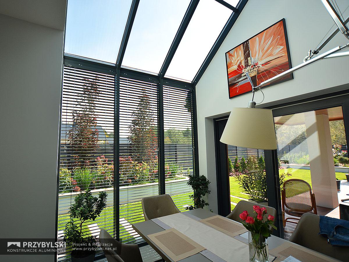 Okno kolankowe szklany dach 0105