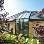 Okno kolankowe szklany dach 0129