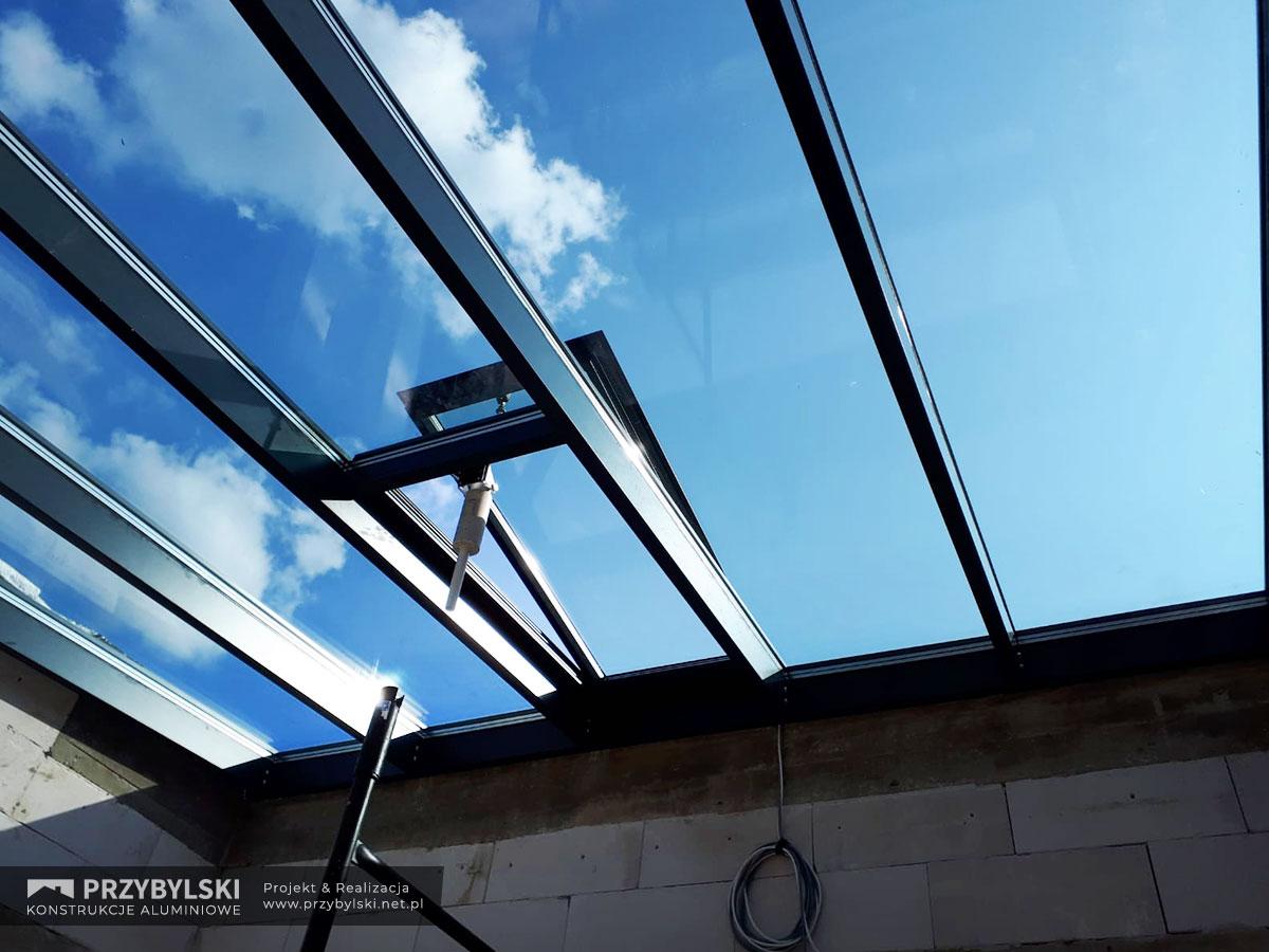 Świetlik - szklany dach 0001