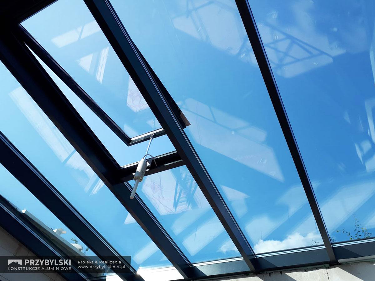 Świetlik - szklany dach 0002