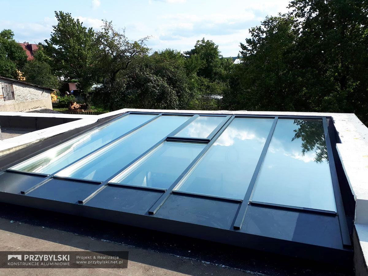 Świetlik - szklany dach 0003