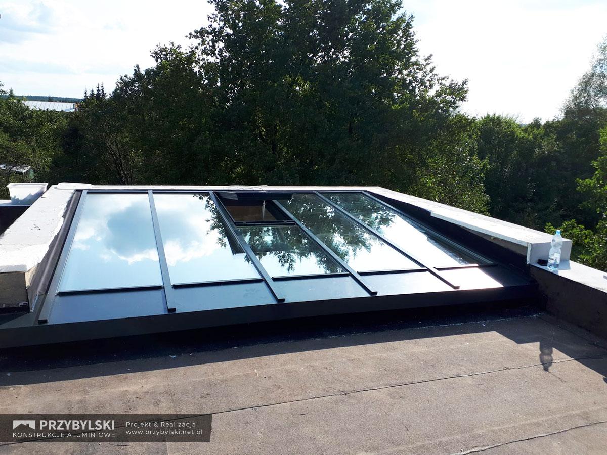 Świetlik - szklany dach 0005